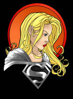 Supergirl -black by thisisevermore