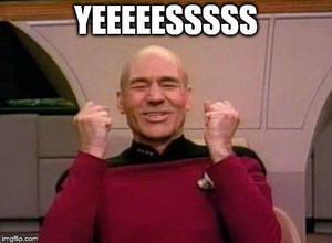 Picard Yes by woohooligan