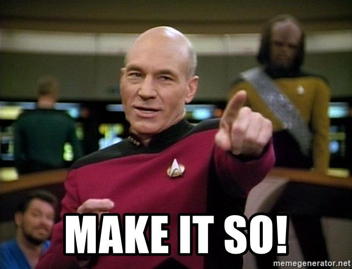 Picard Makeitso by woohooligan