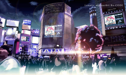 Shibuya by lunaticjoker