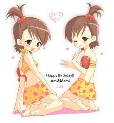 Ami Mami Birthday by lunaticjoker