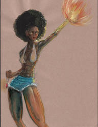 Light magic woman by t5FX