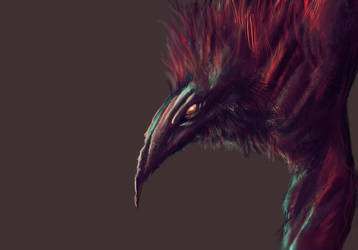 Crow Paint Practice by t5FX