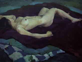 sleeping nude, 2005 by ahgun