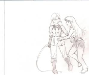 KOF cosplay by Mirandikha
