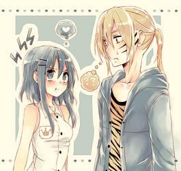 Kouya + Meili by nemurou