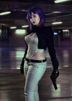 Major Motoko Kusanagi Cosplay 1 by EdraLena