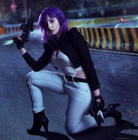 Major Motoko Kusanagi Cosplay 2 by EdraLena