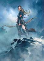 Fantasy Hunter Girl by wawa3761