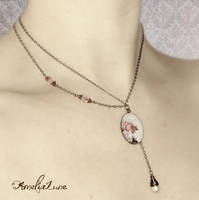 Romantic Rose Necklace by AmeliaLune