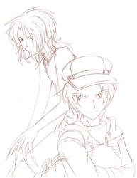Sketch - Errol and Kurt by yukito-chan