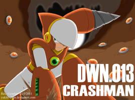 RMNNo - DWN013 Crashman by yukito-chan