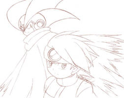 RMBN - Netto and Forte Sketch by yukito-chan