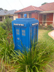 Doctor who letterbox by zebbbb