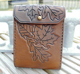 Woodland belt pouch by Half-Goat