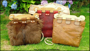 Viking Hedeby Bags by Half-Goat