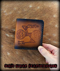 Pictish Z Rod Wallet by Half-Goat