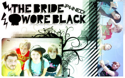 The Bride Wore Black Banner by lpx37glasswar