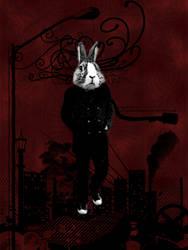 Walking Rabbit by lpx37glasswar