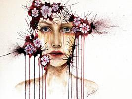 between hope and despair. by LunaJolieArt
