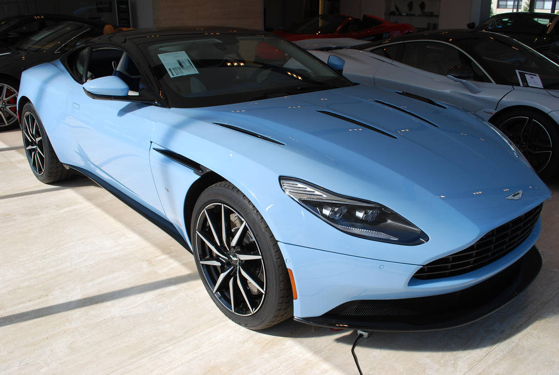 2018 Aston Martin Db11 V12 Coupe By Hardrocker78 On Deviantart