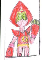 Red Peridot (art trade) by Dulcechica19