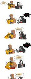 Doomfist vs Reaper by StroopDOG
