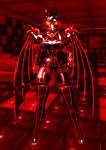 Devil Draxnia 03 by LatexGoddessDraxnia
