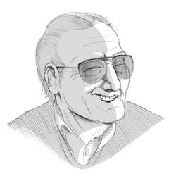 Stan Lee by ArbitraryLabby