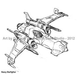 Heavy Starfighter by GTDees