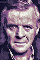Anthony Hopkins by peterpicture