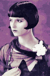 Louise Brooks by peterpicture