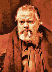Orson Welles by peterpicture