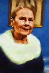 Ruth Gordon by peterpicture