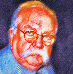 Wilford Brimley by peterpicture