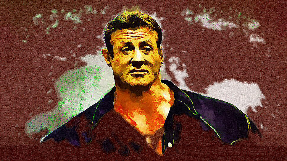 Sylvester Stallone by peterpicture