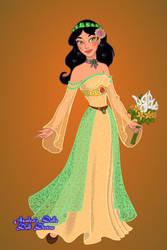 Angela's Ballgown from 'CERTAIN AS THE SUN' by FairyofThunder22
