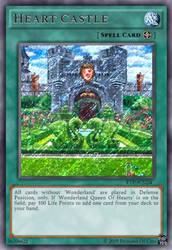 Heart Castle (Fake YGO Card) by FairyofThunder22