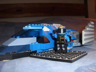 blue man and blue falcon by GHMATT14