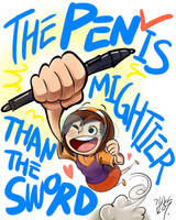 the pen is... by pure1water