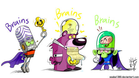 Brains!! by pure1water