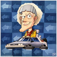 Doc Brown by pure1water