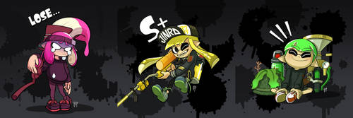 My Splatfriends by pure1water