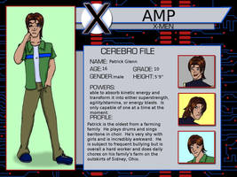Amp- Xmen Evolution OC for EOC by lucida-lownes