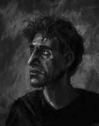Man portrait by Ruiu11