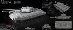 Springmaus - tank concept by Obey-art