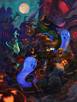 Halloween by Niking