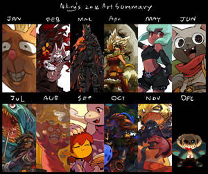 Art summary 2016 by Niking