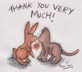 Thank you very much! by SilverHedgie