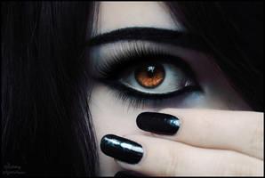 Can't Hear My Black Eyes 4 by KarmaleonA